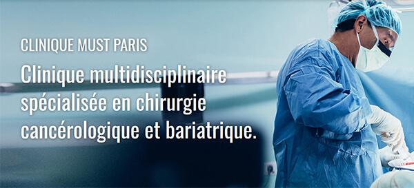 Clinique MUST Paris - Clinique multidisciplinaire spécialisée en chirurgie cancérologique et bariatrique